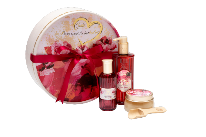 サボン Roses speak for the heart Gift Set