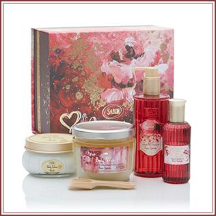 サボン Rose Splash Body Care Kit