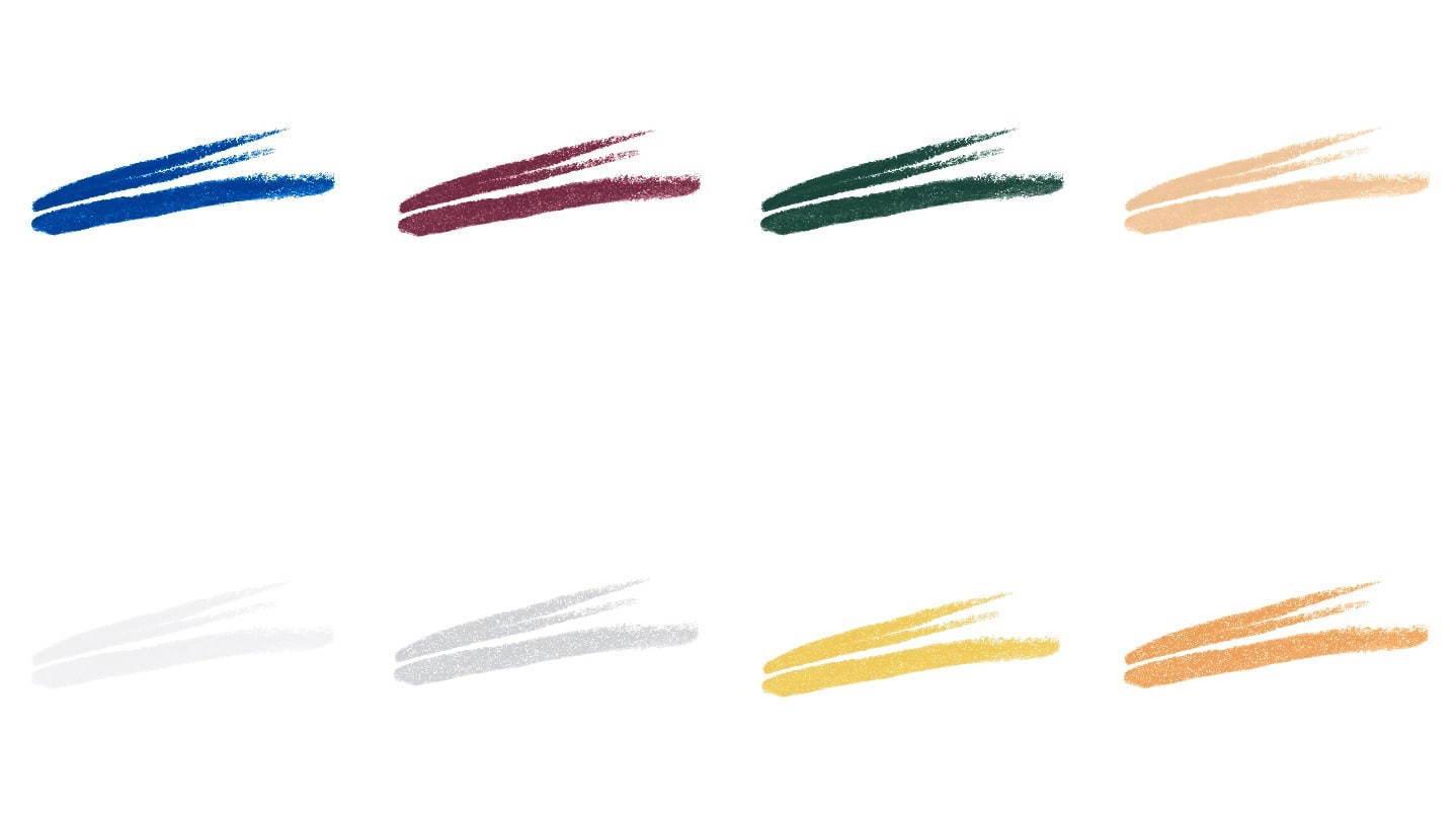 カラーラインナップ